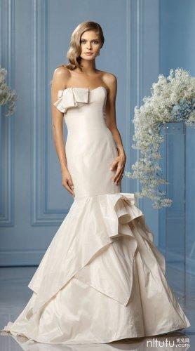 Wtoo 时尚新娘婚纱系列摄影欣赏
