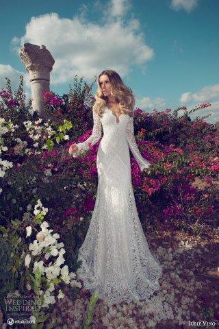 Julie Vino 2014婚纱礼服系列欣赏