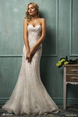 AmeliaSposa 2014婚纱礼服系列欣赏