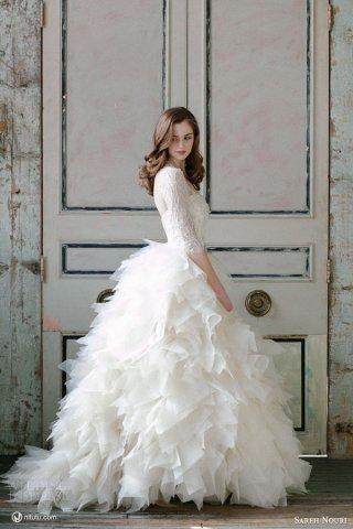Sareh Nouri 2015婚纱礼服系列