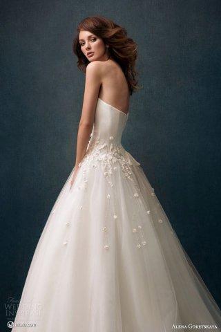 Alena Goretskaya 2014婚纱礼服系列