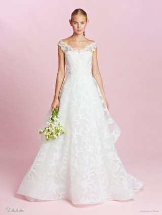 奥斯卡·德拉伦塔(Oscar de la renta)2015婚纱礼服系