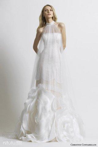 Christos costarellos 唯美婚纱礼服系列欣赏