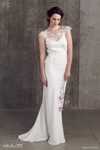 Sally Lacock 新娘婚纱礼服系列欣赏