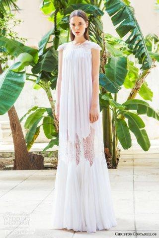 Christos Costarellos 时尚婚纱礼服系列作品