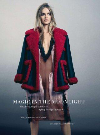 Mirte Mass 时尚杂志摄影欣赏