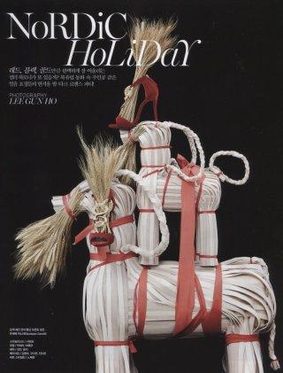 """Nordic Holiday""  vogue korea december 2014"