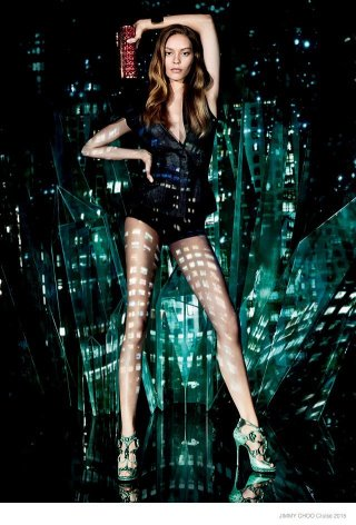 Jimmy Choo 2015早春度假系列广告大片