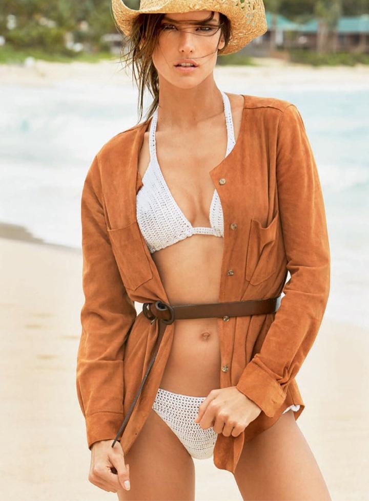 Alessandra Ambrosio《Vogue》巴西版2015年1月号