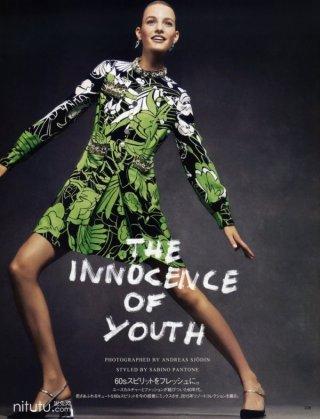 时尚杂志Vogue Japan2015摄影大片  超模Maartje Verhoef出镜演绎