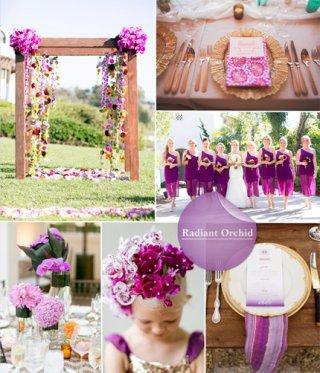 今年十大婚礼色彩流行趋势!画面感太美你准备好了吗