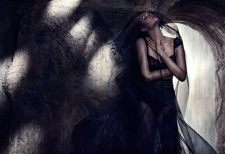 Masha《Fashion》杂志2015年2月号