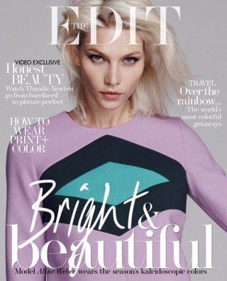 《The Edit》时尚杂志摄影欣赏  出镜模特 Aline Weber