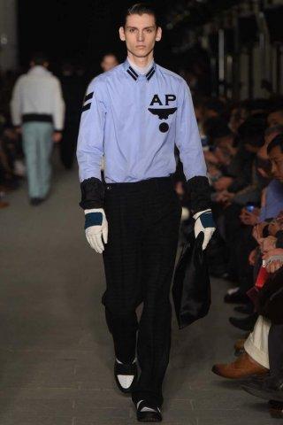 Andrea Pompilio 2015米兰时装周秋冬男装时装发布