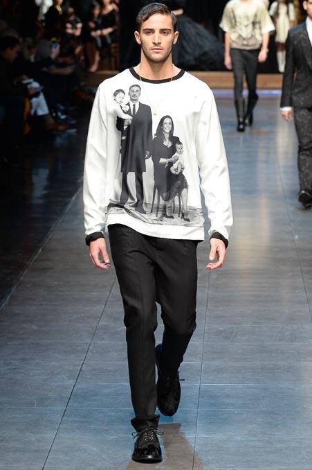 Dolce & Gabbana 2015秋冬男装流行发布