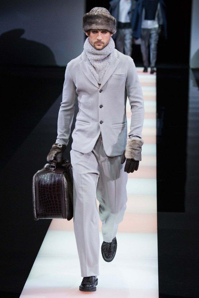 Giorgio Armani 2015秋冬男装流行发布