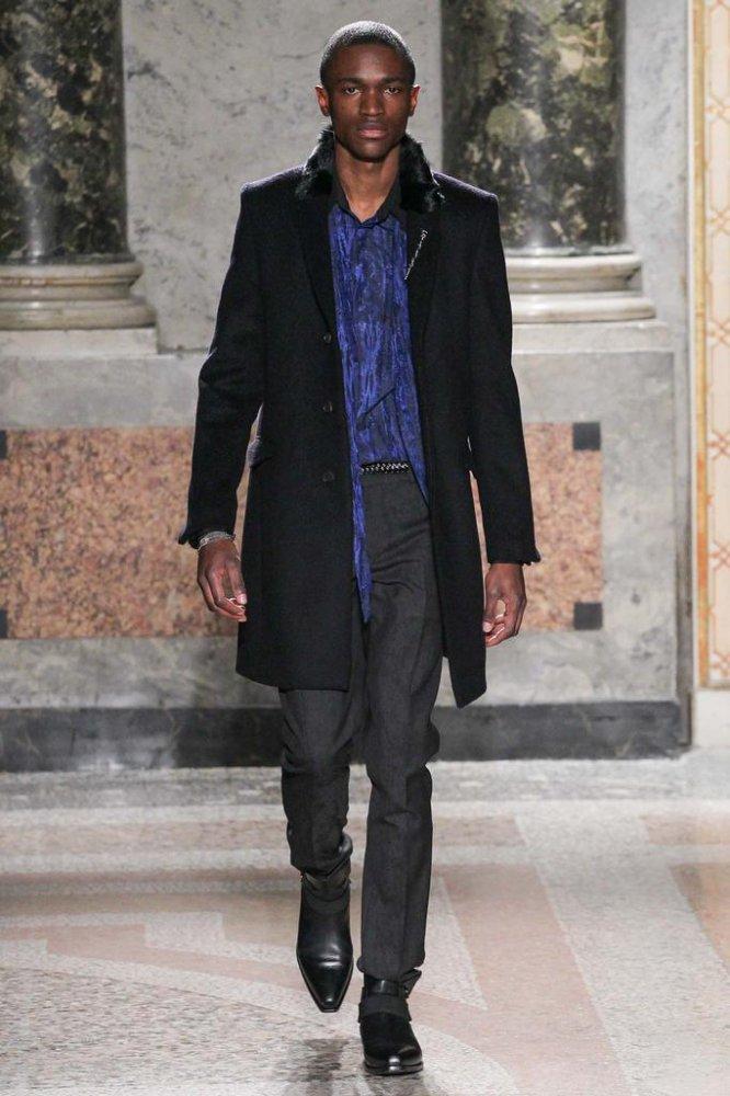 Roberto Cavalli 2015秋冬男装流行发布