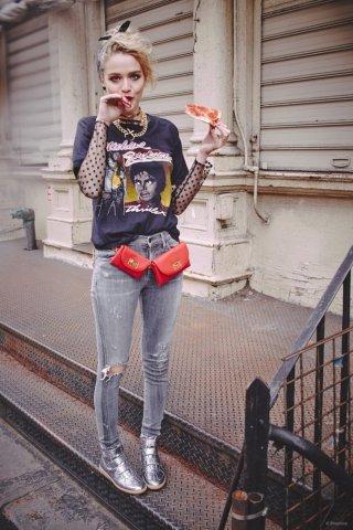 Madonna 时尚摄影作品欣赏  Material Girl(物质女孩)