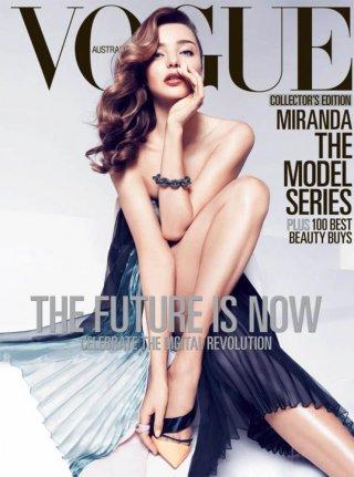 Miranda Kerr 出镜演绎 Vogue杂志摄影大片欣赏