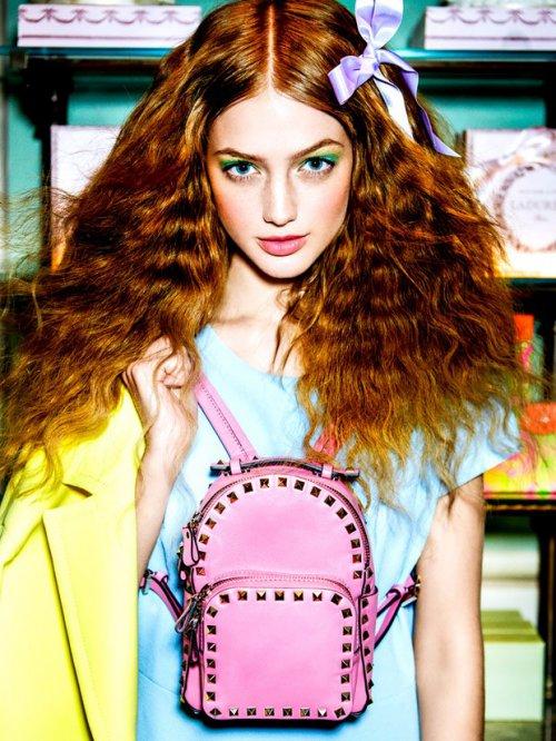 Stephanie 出镜演绎《Elle Turkey》时尚杂志摄影大片