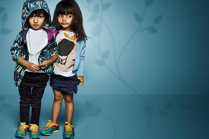 Burberry 2015春夏童装系列广告大片
