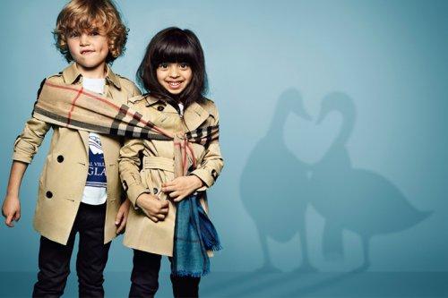 Burberry博柏利 2015春夏童装系列广告大片
