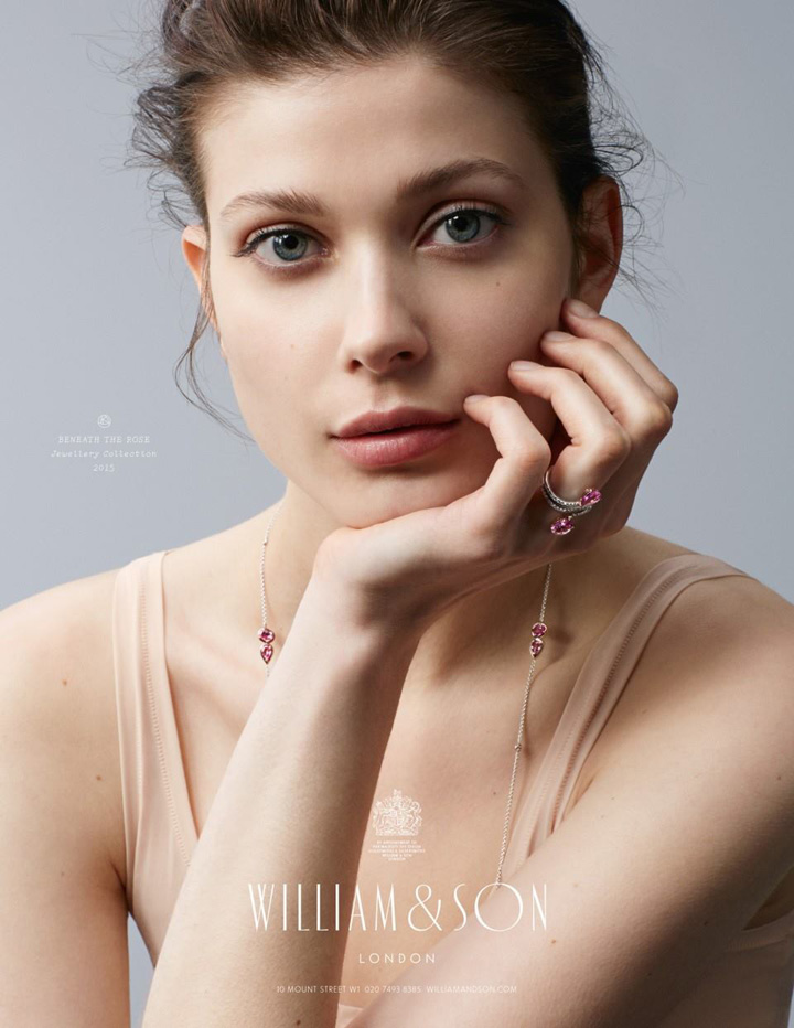William & Son 全新高级珠宝广告大片