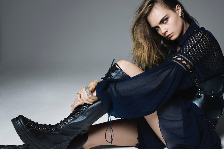 Cara Delevingne《L'Express Styles》杂志2015年4月号
