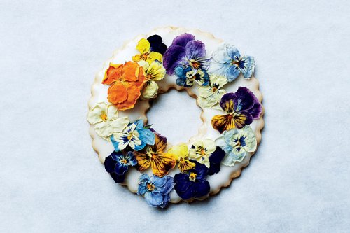 周末厨房:DIY 美丽的花卉酥饼,增添夏日食欲吧
