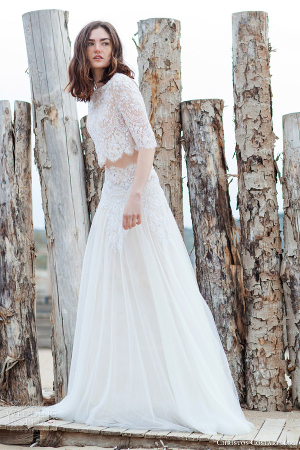 Christos Costarellos 2016新款婚纱系列