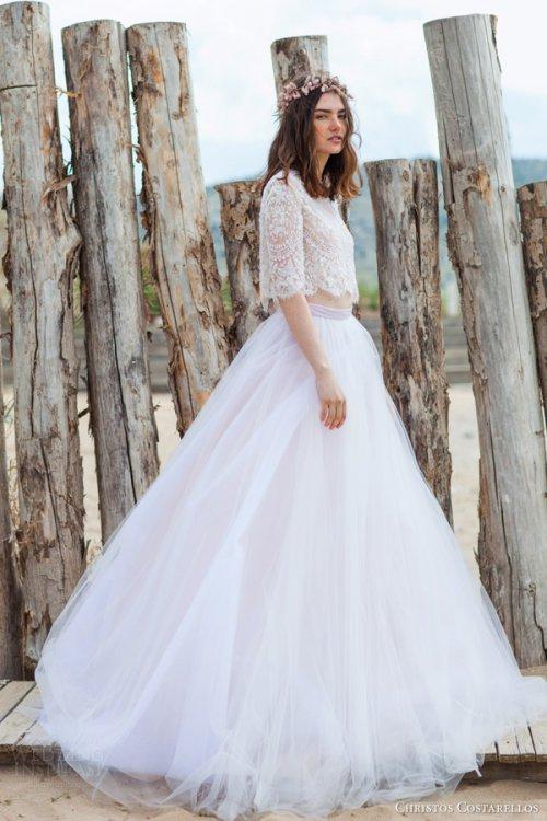Christos Costarellos 2016新款婚纱系列摄影