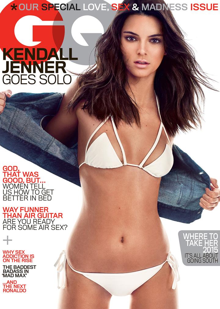 Kendall Jenner《GQ》杂志2015年5月号