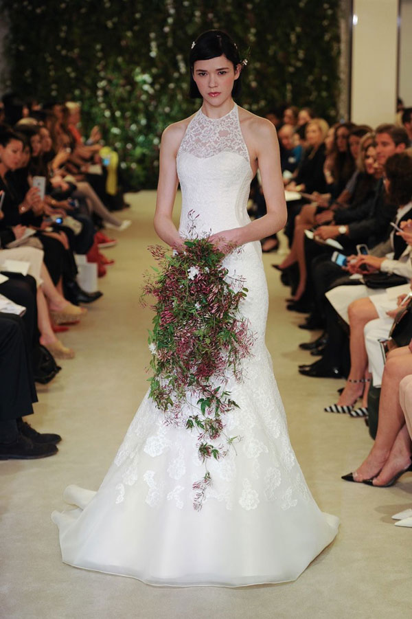 Carolina Herrera 2016春夏系列婚纱秀