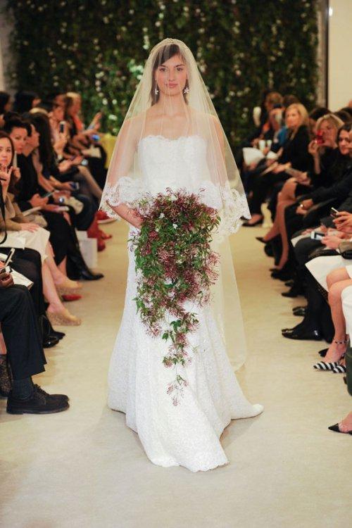 Carolina Herrera 2016春夏婚纱礼服系列