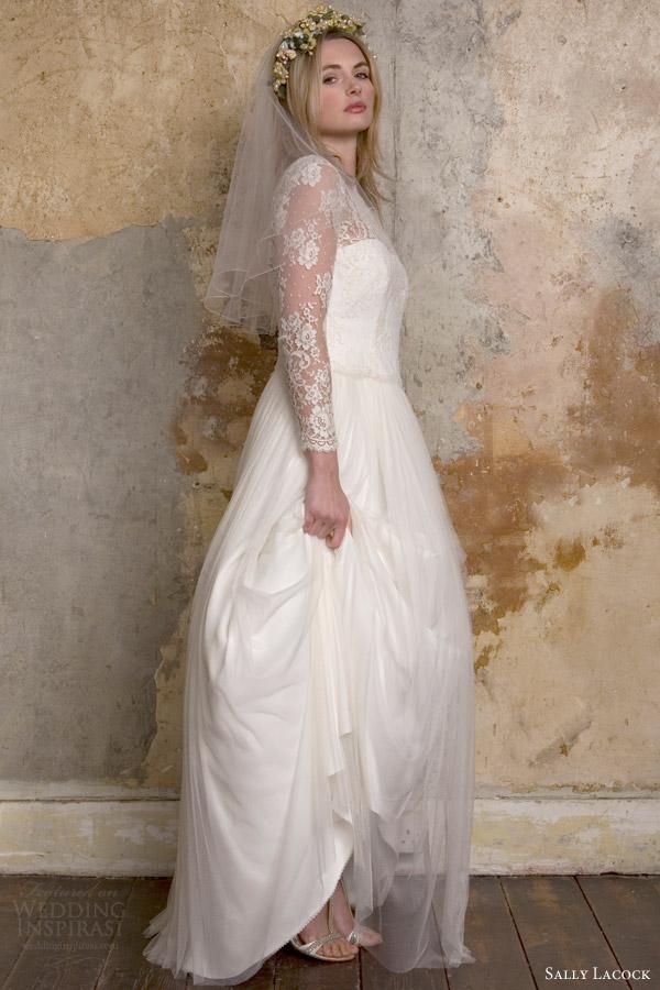 Sally Lacock 2015复古婚纱系列
