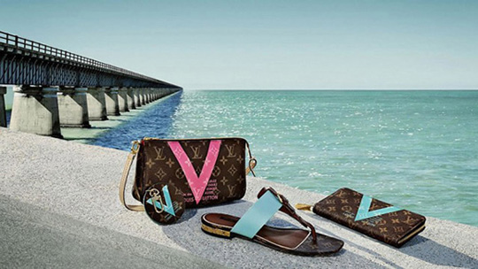 "Louis Vuitton 全新2015夏季""V""系列"