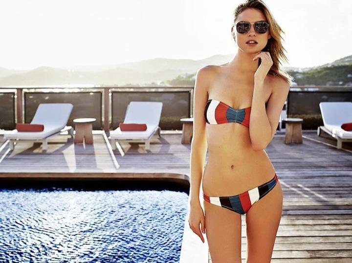 Solid & Striped 2015春夏泳装系列广告大片