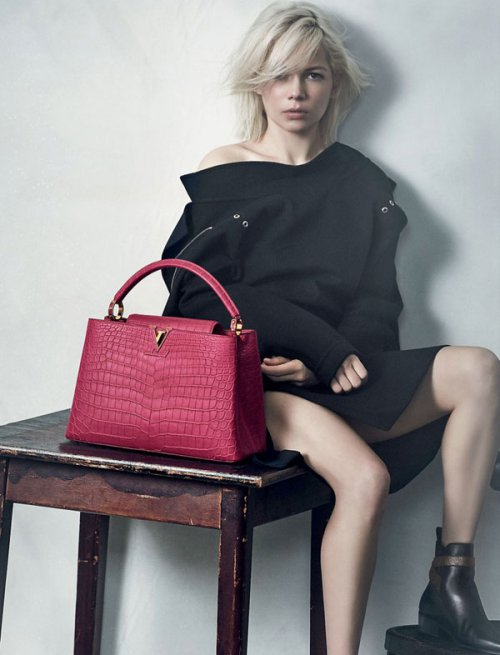 Michelle Williams 代言 Louis Vuitton 路易威登全新手袋