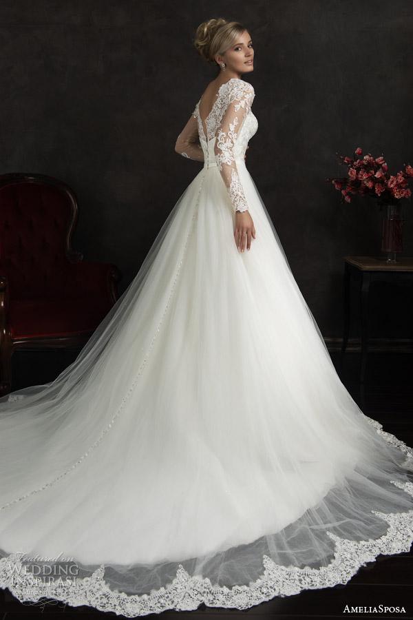 AmeliaSposa 2015婚纱系列LookBook