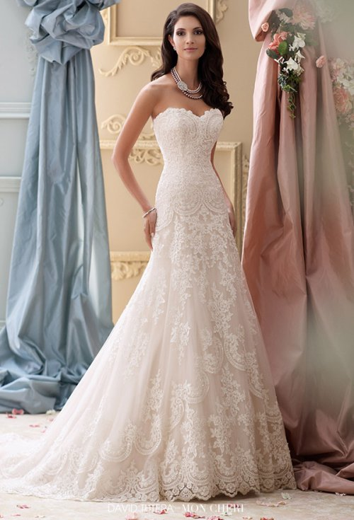 David Tutera for Mon Cheri 2015春季婚纱礼服系列