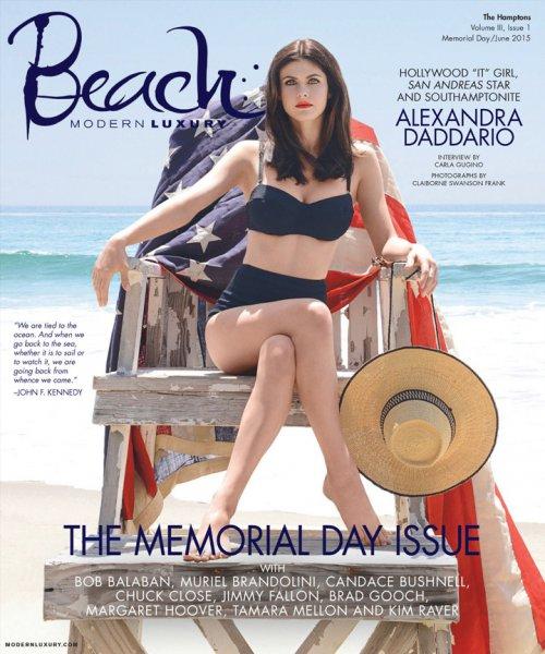 Alexandra Daddario  Modern Luxury欧美杂志摄影大片