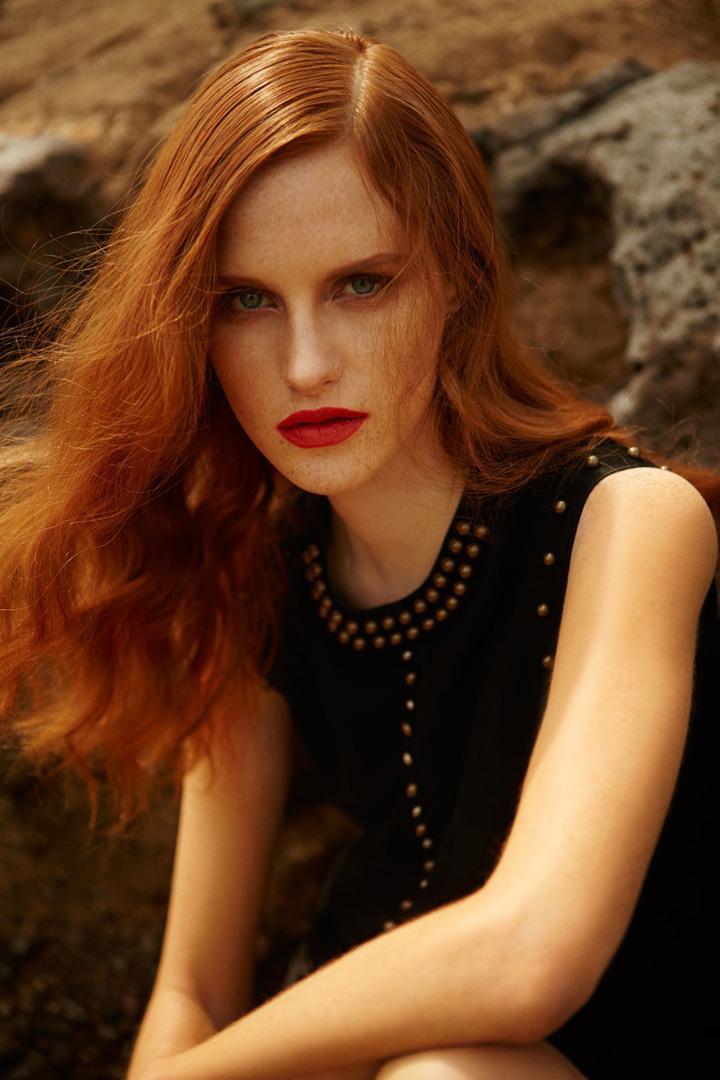 Magdalena Jasek《Harper's Bazaar》土耳其版2015年6月号