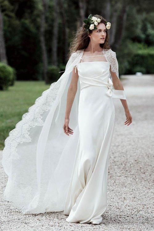 Alberta Ferretti 2016春婚纱礼服系列