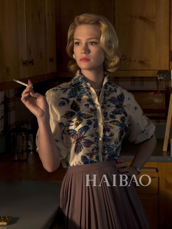 60年代的时髦女性是这样的,《广告狂人》7季妆发全解读