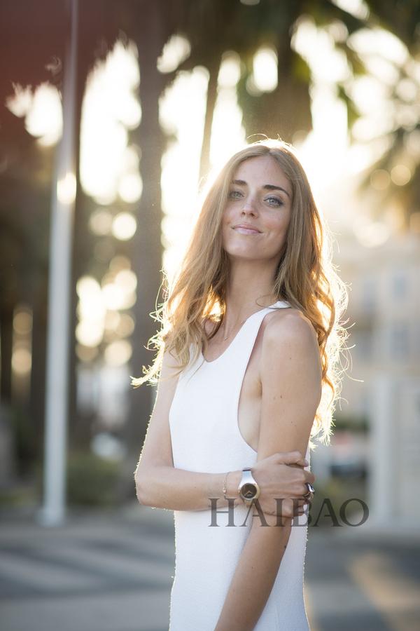 时尚博主嘉拉·法拉格尼 (Chiara Ferragni) 2015第68届戛纳电影节期间街拍