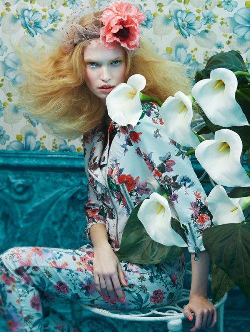 摄影师Sandrine Dulermo,Michael Labica 带来的时尚人像摄影