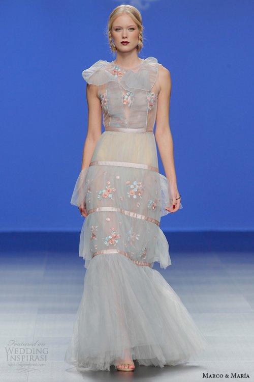 Marco & Maria 2016春夏婚纱礼服系列
