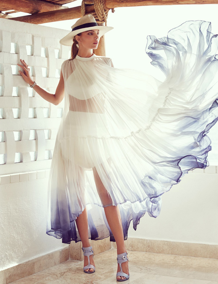 Carola Remer《Vogue》墨西哥版2015年6月号