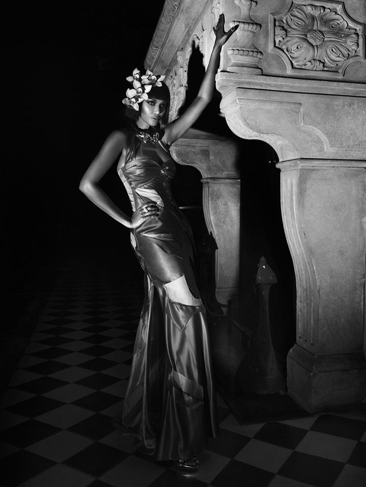 Chanel Iman《Vanity Fair》意大利版2015年7月号