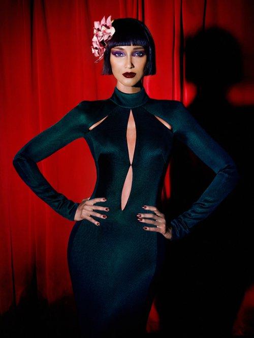 超模 Chanel Iman(夏奈尔·伊曼)登上《Vanity Fair》意大利版2015年7月号封面
